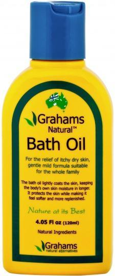 Grahams Natural Skin Body & Bath Oil 100ml