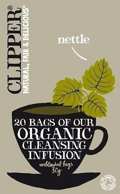 Clipper Organic Cleansing Infusion - Nettle 20 Teabags
