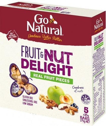 Go Natural Fruit & Nut Delight 5 x 35gm