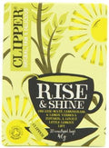 Clipper Rise & Shine - Organic Mate, Lemongrass & Lemon Verbena 20 Teabags