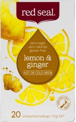 Red Seal Lemon & Ginger 20Teabags