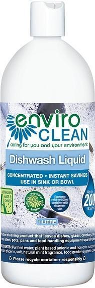 Enviro Care Dish Wash Liquid 1L New