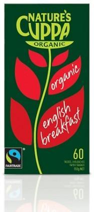 Natures Cuppa Org English Breakfast 60Teabags-Health Tree Australia
