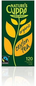 Natures Cuppa Organic Ceylon 120 Teabags