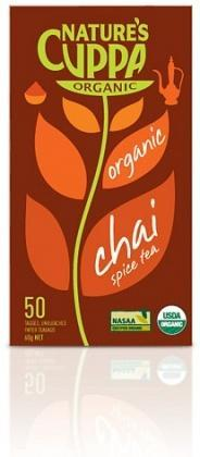 Natures Cuppa Organic Chai Spice 50 Teabags-Health Tree Australia