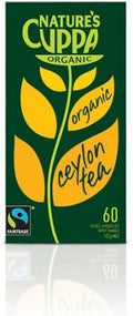 Natures Cuppa Ceylon 60 Teabags