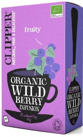 Clipper Organic Wild Berry Infusion 20Teabags