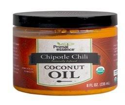 Primal Essence Organic Chipotle Chili Coconut Oil 235ml