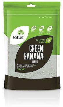 LOTUS Green Banana Flour G/F 500g