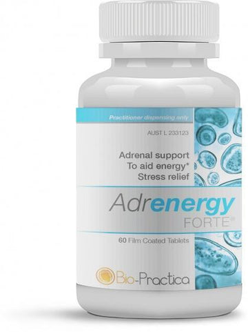 Bio-Practica Adrenergy Forte 60 Tablets New