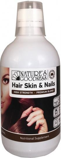 Natures Goodness Hair Skin & Nails 500ml