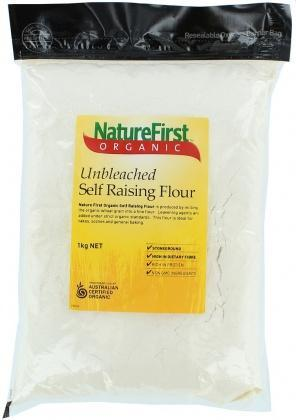NATURE FIRST Organic Self Raising Flour 1Kg