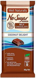 Well,naturally No Sugar Added Coconut Delight Block G/F 12x90g