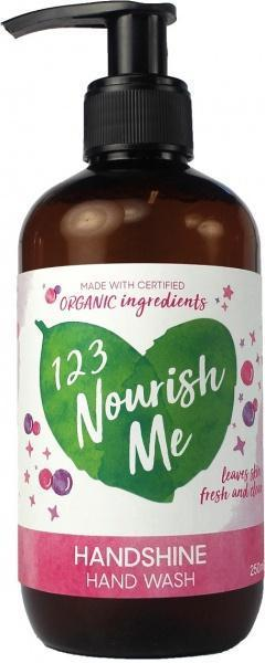123 Nourish Me Handshine Hand Wash Pump 250ml New