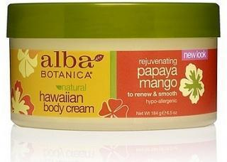 Alba Hawaiian Papaya Mango Body Cream 184g