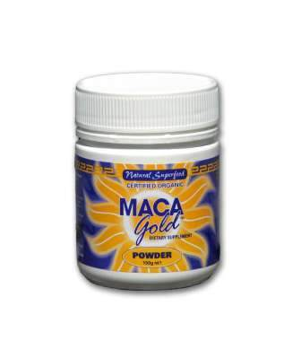 Maca Gold Organic Powder 150gm-Health Tree Australia