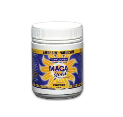 Maca Gold Organic Powder 300gm-Health Tree Australia