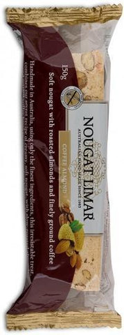 Nougat Limar G/F Coffee Almond 150g