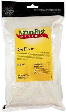 NATURE FIRST Organic Rye Flour 500g