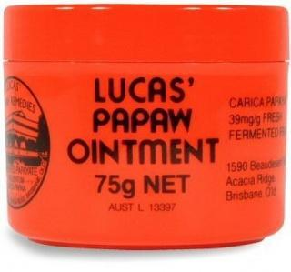 Lucas Papaw Ointment 75gm Jar-Health Tree Australia
