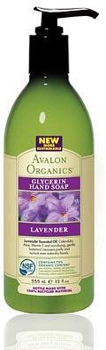 Avalon Organics Liquid Soap Lavender 350ml