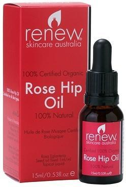 Renew Certified Organic Rose Hip Oil 15ml-Health Tree Australia