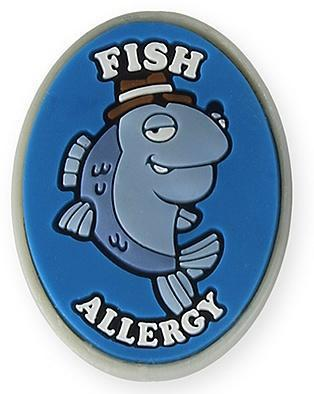 AllerMates Fish Allergy Charm - Health Tree Australia