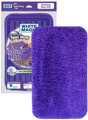 White Magic Dusting Mop Head - 32x20cm-Health Tree Australia