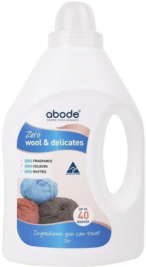 Abode Wool Wash ZERO Fragrance Free 2L