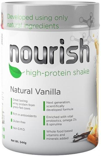 SystemLS Nourish High Protein Shake Natural Vanilla G/F 544g-Health Tree Australia