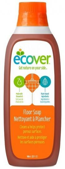 Ecover Floor Soap With Linseed Oil 1ltr-Health Tree Australia