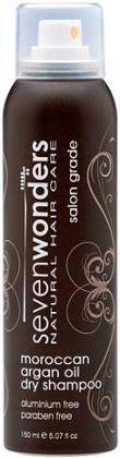 Seven Wonders Moroccan Argan Oil Dry Shampoo 150ml-Health Tree Australia