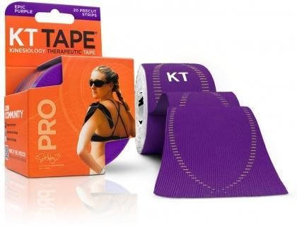 "KT Tape Pro 20 Precut 10"" Strips Epic Purple-Health Tree Australia"