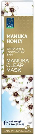 Manuka Health MGO 600+ Manuka Clear Mask 50ml-Health Tree Australia