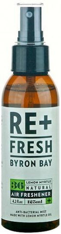 ReFresh Byron Bay Lemon Myrtle Air Freshener 125ml-Health Tree Australia