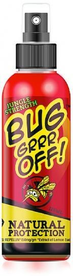 Bug-Grrr Off Jungle Strength Outdoor Spray 125ml