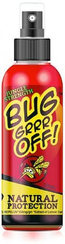 Bug-Grrr Off Jungle Strength Outdoor Spray 125ml-Health Tree Australia