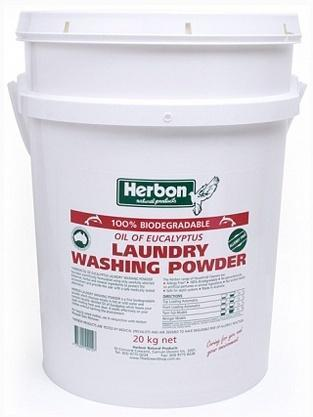 Herbon Laundry Washing Powder 20kg-Health Tree Australia
