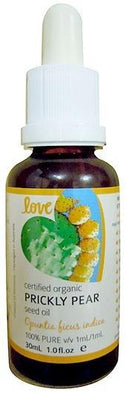 Love Oils Organic Prickly Pear Seed Oil 30ml-Health Tree Australia