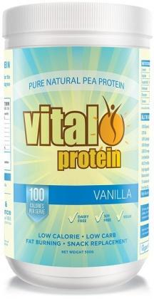 Vital Protein Pea Protein Isolate VanillaPwdr 500g