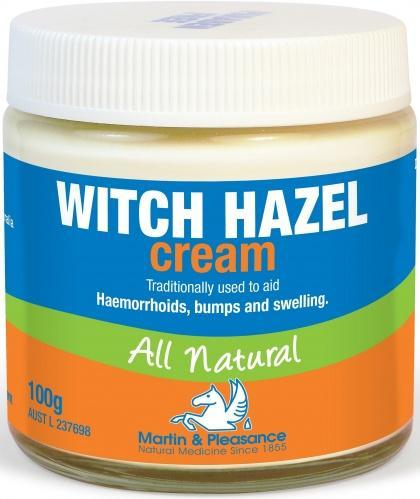 Martin & Pleasance Witch Hazel Cream All Natural x100gm-Health Tree Australia