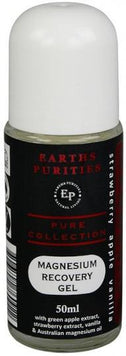 Earths Purities Magnesium Recovery Gel Apple, Strawberry & Vanilla Roll On 50ml-Health Tree Australia