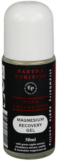 Earths Purities Magnesium Recovery Gel Apple, Strawberry & Vanilla Roll On 50ml