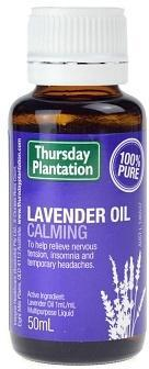 TP Lavender Oil Calming 100% 50ml-Health Tree Australia
