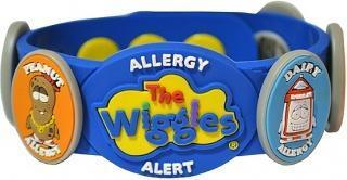 AllerMates The Wiggles Multi Charm Allergy Allert Kit