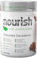 SystemLS Nourish High Protein Shake Chocolate Decadence G/F 580g-Health Tree Australia