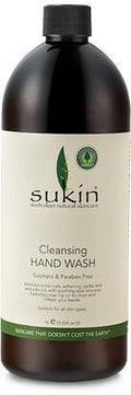 Sukin Cleansing Hand Wash Refill cap 1 Litre