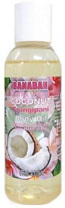 Banaban Extra Virgin Coconut Frangipani Body Oil 125ml-Health Tree Australia