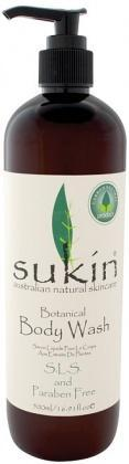 Sukin Botanical Body Wash Pump 500ml