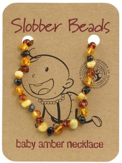 Slobber Beads Baby Multi Round Necklace-Health Tree Australia